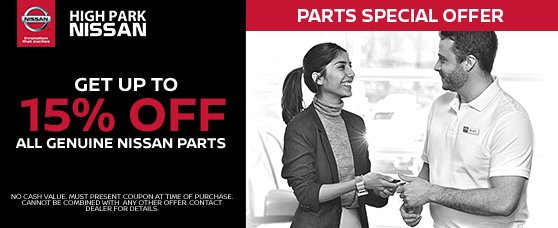 15% off on Parts